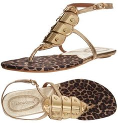 c05651c9a4b5 These gold leopard print Corso Como prom sandals allow you to express your  inner.