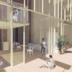 Vita del Muro: Co-inhabiting the Aurelian Wall - KooZA/rch Lund University, Sleeping Pods, Timber Structure, Urban Fabric, Student Awards, Affordable Housing, School Architecture, Ancient Romans, Architectural Elements