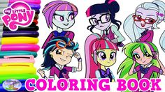 My Little Pony Coloring Book Equestria Girls Shadowbolts Episode Surpris...