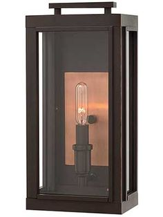 Sutcliffe 1-Light Exterior Wall Sconce | House of Antique Hardware