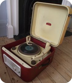 1957 vintage record player
