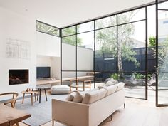 Armadale Residence is a beautiful dwelling with natural simplicity, located in Melbourne, Victoria, designed by Made by Cohen and Robson Rak Architects.