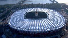 Most Luxurious Football Stadiums In Europe - The Leader Newspaper Football Match, Football Soccer, Baseball Park, Uefa Euro 2016, Euro 2012, National Stadium, Sports Stadium, Most Popular Sports, International Football