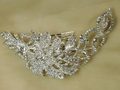 Crystal Head Pieces | Bridal Crystal Hair Combs - Prettycool.co.uk