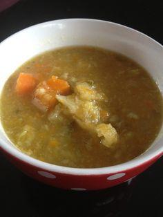 Soupe au chou frisé et carottes