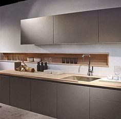 New Poggenpohl Colour - Stone Grey here is combination with Spekva wood worktop Most Popular Kitchen Design Ideas on 2018 & How to Remodeling Kitchen Decor, Kitchen Inspirations, Wood Worktop, Kitchen, Luxury Kitchen, Trendy Kitchen, Modern Kitchen Design, Kitchen Interior Design Modern, Kitchen Design Trends