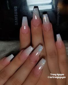 Nägel ideen Sommer Acryl Nageldesign Hair care tips and more. Article Body: An ideal woman Best Acrylic Nails, Summer Acrylic Nails, Acrylic Nails Coffin Ombre, Pink Coffin, Spring Nails, Acrylic Nails Coffin Glitter, French Tip Acrylic Nails, Acrylic Nail Art, Shapes Of Acrylic Nails
