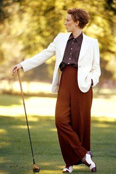Cate Blanchett as Kate Hepburn in The Aviator     ugh… so good.