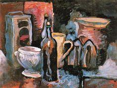 Pere Daura - Naturaleza Muerta-1924-30. Oli sobre tela. 49 x 64 cm.-Ciudad de la pintura - La mayor pinacoteca virtual