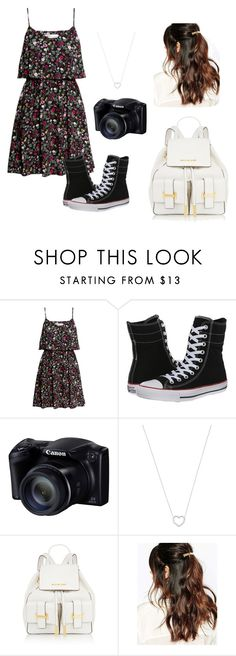 """Untitled #135"" by vic-valdez on Polyvore featuring H&M, Converse, Tiffany & Co., MICHAEL Michael Kors and Suzywan DELUXE"