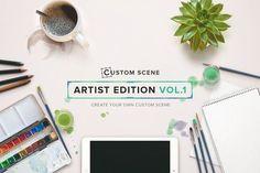 Artist Ed. Vol. 1 - Custom Scene by Román Jusdado on @creativemarket