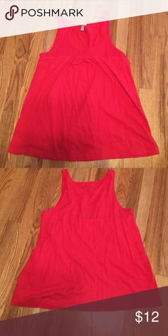 Old Navy Red Tank Red loose tank Old Navy Tops Tank Tops