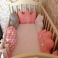 Бортики в детскую кроватку 29406