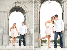 Engagement- love this one from the sam houston statue at Herman park!!