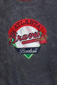 ATLANTA BRAVES 1992 COLLECTORS SERIES Embroidered Sweatshirt Large THE GAME #TheGame #AtlantaBraves