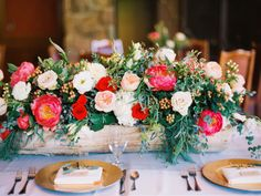 Rustic Pink and Pale Blush Centerpiece | photography by http://www.greenapplephotographyonline.com/