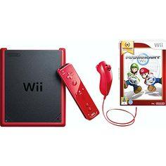 Submarino Console Nintendo Wii Mini Preto/Vermelho R$ 527,91 no boleto