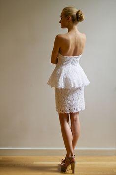 Coco (back) - Francesca Miranda #Bridal #Spring2013