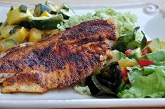 Southwest Tilapia recipe is light, healthy and full of flavor