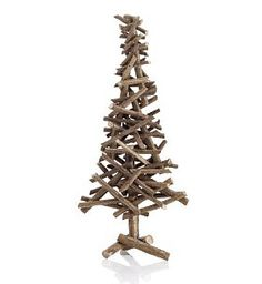 Glitter Twig Tree. How hard would it be to make this -- or something like it?
