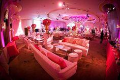 Fabulous setup at this #pink #uplighting #wedding #reception! #diy #diywedding #weddingideas #weddinginspiration #ideas #inspiration #rentmywedding #celebration #weddingreception #party #weddingplanner #event #planning #dreamwedding by @intleventco