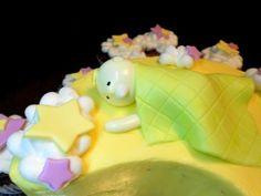 Baby Shower Moon Cake