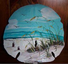 sand dollar crafts | Painted sand dollar | Crafts