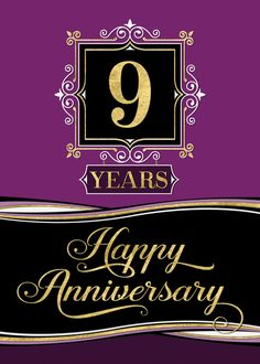 Personalize any greeting card for no additional cost! Cards are shipped the Next Business Day. Anniversary Message For Husband, Anniversary Quotes For Husband, 9 Year Anniversary, Happy Wedding Anniversary Wishes, Congratulations On Marriage, Wishes For Brother, 6 Years, Plum, Formal