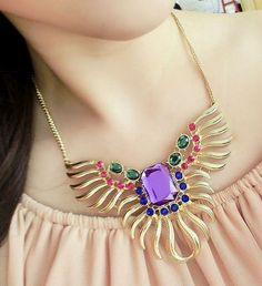 Octopus Abstract Fashion Necklace | LilyFair Jewelry, $16.99!