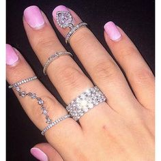 Silver Dangle Cz Heart Ring, Rings, Body Kandy Couture