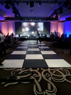 This dance floor also served as a runway for an awards ceremony. J Patrick Designs Social Events, Corporate Events, Event Decor, Awards, Runway, Floor, Dance, Design, Cat Walk