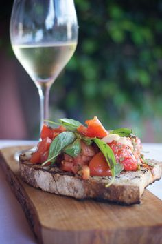 Create this summery appetizer with the help of family-owned artisan bakery, BREAD