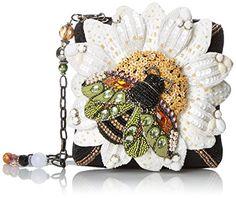 Mary Frances Buzz Me Shoulder Handbag, Black/White, One Size Mary Frances http://www.amazon.com/dp/B00RY57HBO/ref=cm_sw_r_pi_dp_tD9avb09P9B8E