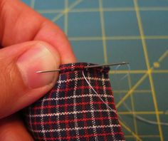 DIY- hand sewn pocket squares