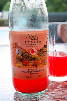 Villa Italia Italian Blood Orange Soda, available at Trader Joe's. Party Drinks Alcohol, Alcoholic Drinks, Beverages, Joes Italian, Eat At Joe's, Blood Orange Soda, Savarin, Trader Joes, Italian Recipes