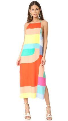 Mara Hoffman Side Slit Midi Dress
