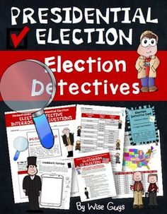 Elections: Presidential Election ActivityThe purpose of this 30-page activity (including 10-page answer key) is to engage your students by having them become election detectives and learn about the process of electing the president of the United States.