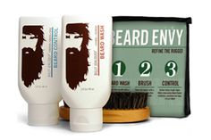 Everything he needs to turn his scratchy nest into something soft and beautiful is packed into a tidy, travel-friendly kit: a gentle beard wash spiked with moisturizing aloe vera; a two-sided boar-bristle brush that tames even thick, pokey strands; and a light-hold beard-styling cream. Billy Jealousy Beard Envy Kit, $25, available at Billy Jealousy.