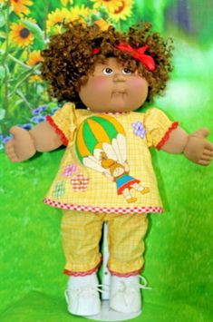 """LT YELLOW PANTY PANTIES BLOOMERS W// YELLOW EYELET for 15-18/"""" CPK CABBAGE PATCH"""