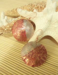 2b1178e29 Textured Patina 35mm 29mm round and 41mm by BoldLineAccessories Copper  Earrings, Rounding, Crochet Earrings