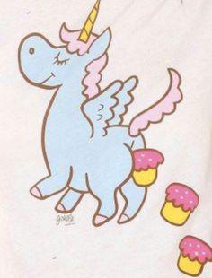 Unicorn s and cupcakes