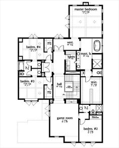 Upper Level house plan 449-8 at houseplans.com - N favorite