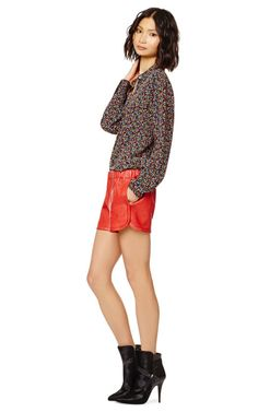 Leather Track Short by Thakoon Addition Now Available on Moda Operandi