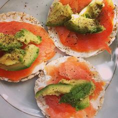 ❝Smoked salmon, avocado, cream cheese + pepper. What's not to love?❞