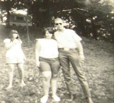 Hank Jr & fans at Frontier Ranch, now Hookahville in 1968.