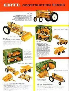 Vintage 1/16 IH Construction Series Ad
