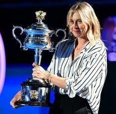 Maria Sharapova Australian Open draw ceremony 2018.