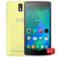 """ELEPHONE G5 5.5"""" IPS HD Android 4.4.2 MTK6582 Quad Core 3G Phone13MP CAM 1GB RAM 8GB ROM Smart Wake P084-EPG5"""