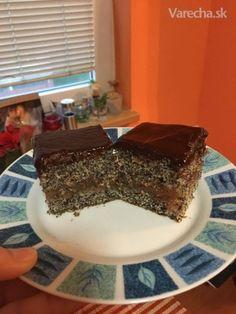 Makovo-čerešňový koláč (fotorecept)