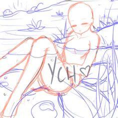 SLEEPING GIRL YCH [closed ty] by Iy-shu.deviantart.com on @DeviantArt